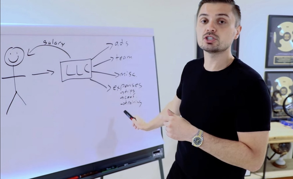 screenshot of discussing the value of an LLC for your ecommerce business