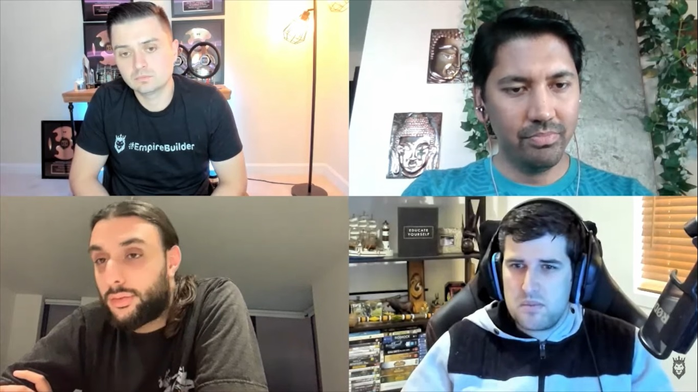 Screen grab of Dropshipping Council discussing ecommerce tips