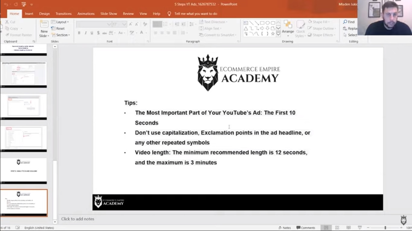 Additional tips for creating successful YouTube ad videos